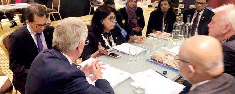 CILT Sri Lanka delegation attends the Centenary International Convention in Manchester